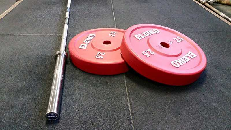 Eleiko Weightlifting Bar and Plates